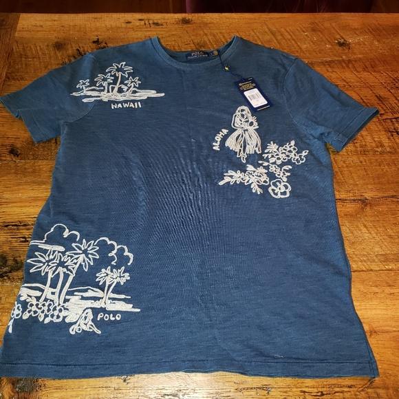 Hawaii Lauren Tshirt Polo Souvenir Nwt Ralph 3R5c4LqAj